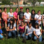 Ahora la Asociación Civil Sonríe y personal de la cadena Starbucks participaron en la reforestación