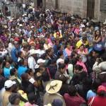 Antorchistas aseguran que en 5 ocasiones han sido atendidos por funcionarios menores y ahora demandan hablar directamente por el alcalde