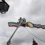 Quieren autoridades que Morelia luzca especialmente bella y colorida durante el mes de septiembre, a fin de que tanto morelianos como turistas hagan suyas las fiestas patrias