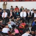 El coro formado por niños y jóvenes es una muestra de que nadie es mejor que todos juntos: Lázaro Medina