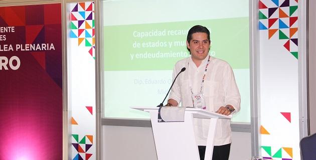 """Orihuela Estefan coordinó los trabajos de la mesa de trabajo sobre """"Capacidad recaudatoria de estados y municipios y endeudamiento público"""""""
