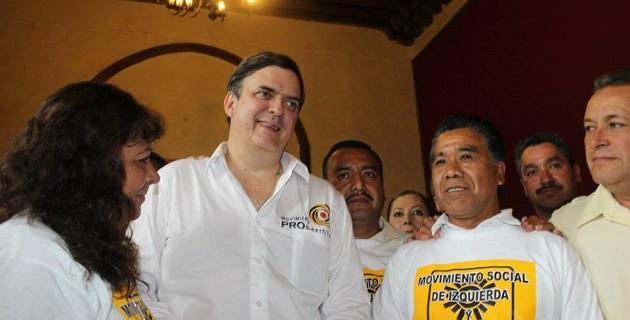 Marcelo Ebrard quien es un liderazgo limpio, honesto y claro, dice Aparicio Tercero