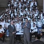 En Morelia se están haciendo nuevos camino, afirmó Lázaro Medina en el marco del concierto