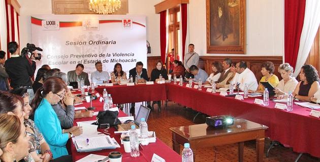 Lo anterior durante el seguimiento, informe y difusión de los acuerdos alcanzados sobre el tema en Michoacán