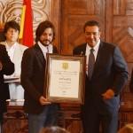 El artista se encuentra en la ciudad de Morelia en el marco de la celebración del Festival Internacional de Cine