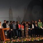 En este cierre, fueron reconocidos la capacidad, creatividad y talento de los productores michoacanos y mexicanos que elaboraron cortometrajes y largometrajes