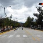 En Calzada Juárez está pendiente la colocación del drenaje pluvial en 400 metros y en la Avenida Periodismo se prevé que el lunes terminará la colocación de concreto hidráulico