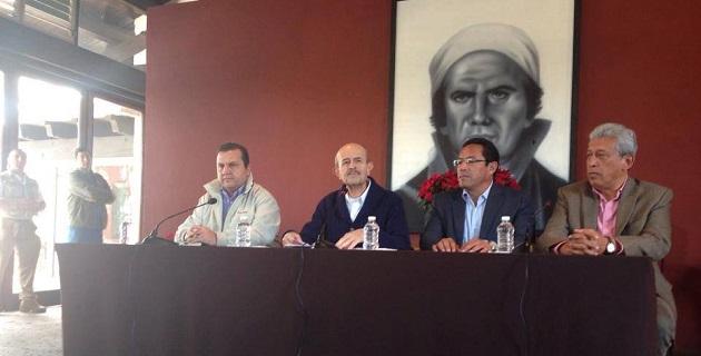 Vallejo Figueroa fue acompañado por los titulares de la SSP, Alberto Reyes Vaca; de la PJGE, Marco Vinicio Aguilera; y de la Subsecretaría de Gobernación, Fernando Cano