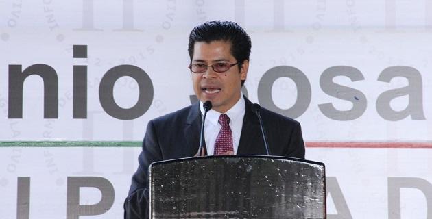Sosa López fue acompañado por Elio Núñez Rueda, como representante del gobernador Fausto Vallejo, así como por los diputados Salvador Galván, Daniela de los Santos, Omar Noé Bernardino y César Chávez