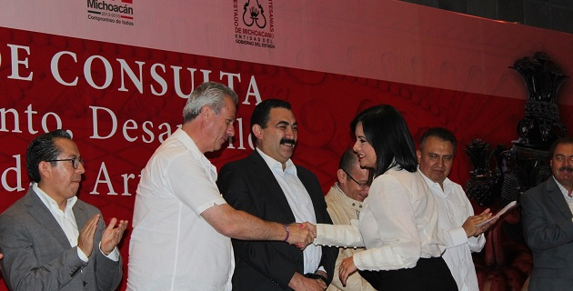 El evento se realizó este jueves en el Centro de Convenciones y Exposiciones de Morelia