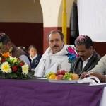 Silva Tejeda hizo un recuento de los municipios que ha visitado en los últimos días, entre ellos Tancítaro y Tingambato