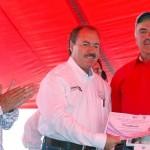 Con una inversión superior a los 9 millones aportada en conjunto entre la CFE, Sedesol y el Ayuntamiento de Maravatío, se da continuidad a los compromisos de la Presidencia de la República