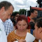 Silva Tejeda recordó que los objetivos son reducir la carencia alimentaria, de servicios y espacios de vivienda, salud, educación e ingresos