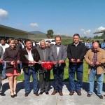 El delegado federal de la Sedesol, Víctor Silva Tejeda, dijo que la dependencia aportó recursos para la construcción de las 15 aulas que se inauguraron mediante el programa 3x1