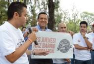 """La campaña """"Haz Barrio, Compra Local"""" arrancó con una inversión aproximada de 10.5 millones de pesos, que aportó la actual administración y empresarios morelianos para promocionar el consumo interno"""