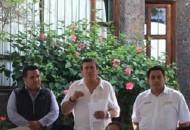 El ex secretario de gobierno, Enrique Bautista, reiteró su compromiso con el cardenismo y llamo a fortalecer la planilla de ADN en las diferentes regiones del estado
