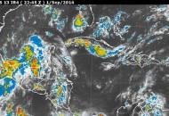 Se esperan precipitaciones de fuertes a torrenciales en diversas regiones del país
