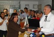 El delegado Pedro Luis Benítez informó que se apoyó a productores de Pajacuarán al verse afectados por una granizada este fin de semana