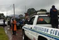 Se exhorta a la población a extremar precauciones y mantenerse atenta a los llamados de Protección Civil y autoridades estatales y municipales