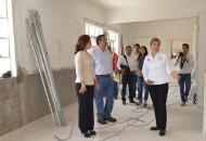 """La coordinadora de la """"Casa de los Abuelos"""", Cristina Oseguera, dio la bienvenida a las autoridades municipales y agradeció el apoyo que realiza la administración"""