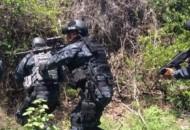 Desde el pasado 8 de septiembre, personal de la División de Gendarmería se desplegó en el poblado de La Ruana, municipio de Buenavista Tomatlán, en apoyo a la seguridad de los habitantes