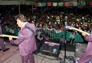 Rotundo éxito de los Freddy´s en Uruapan, agrupación que la tarde noche de este sábado hizo vibrar y revivir gratos momentos de romance a miles de parejas