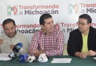Destaca Aguirre Chávez que el PRI sólo tuvo sanciones económicas por alrededor de 110 mil pesos, luego del anterior proceso electoral local, de los cuales solo se adeudan aproximadamente 60 mil pesos