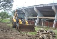 En ese sentido, el secretario de Obras Públicas, Gustavo Moriel Armendáriz, comentó que en beneficio de más de 700 mil habitantes, las obras que realiza la dependencia a su cargo se encuentran en un 10 por ciento de avance