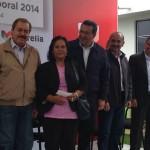 Silva Tejeda destacó que a través de la Cruzada Nacional contra el Hambre y el Plan Michoacán, la Sedesol ha instalado en Morelia 15 Comedores Comunitarios en donde se atiende a mil 800 morelianos