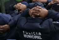 Entre los municipios donde se han llevado a cabo detenciones de policías o mandos ligados al crimen, están Ciudad Hidalgo, Zitácuaro, Tzitzio, Tlazazalca, Villa Madero, Tangancícuaro, Purépero, Quiroga y Churintzio, entre otros