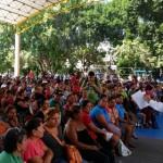 Silva Tejeda precisó que con estas acciones se beneficiará a 53 mil 847 pobladores de los municipios de Apatzingán, Buenavista, Huetamo, Lázaro Cárdenas, Zitácuaro y Morelia