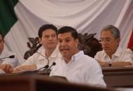 En el marco de la Sesión Solemne de la 72 Legislatura del Congreso del Estado celebrada en este municipio, Chávez Garibay enfatizó la necesidad de superar la ofuscación de los espíritus y generar un ambiente de paz y armonía