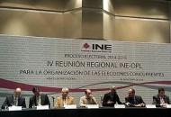 En dicha reunión, se analizan los alcances de la reforma electoral y su impacto en el Sistema Electoral Mexicano