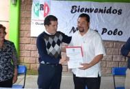 """Aguirre Chávez visitó los municipios de Zitácuaro, Ocampo, Angangueo y Senguio, donde prometió que no habrá """"dados cargados"""" en la definición de candidatos"""