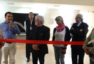 Erik Avilés Martínez, director general del Polifórum Digital de Morelia dio la bienvenida a los participantes de la Bienal Internacional de Cartel y el Congreso Mundial de Diseño