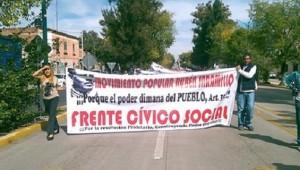 Las manifestaciones a la orden del día en la capital michoacana (FOTO: FRANCISCO ALBERTO SOTOMAYOR)