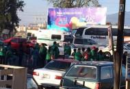 Ante el bloqueo vehicular se recomienda a la población evitar en la medida de lo posible transitar por la ciudad (FOTO: ALTORRE.COM.MX)