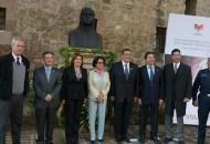 El acto contó con la presencia del gobernador de Michoacán, Salvador Jara Guerrero, además del secretario de Gobierno de la entidad, Jaime Darío Oseguera Méndez