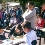Este es el tercer caso de los últimos días de una escuela de Morelia en la cual se entorpecen las actividades normales por conflictos entre la Sección XVIII de la CNTE y el Movimiento Antorchista en Michoacán (FOTO: FRANCISCO ALBERTO SOTOMAYOR)