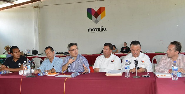 Abud Mirabent presentó a Zeus Rodríguez Miranda como nuevo director de Enlace Ciudadano del Ayuntamiento de Morelia