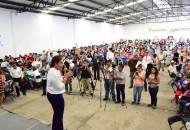 La candidata panista se pronunció por tener Un Gobierno de Verdad, donde no tenga haya espacios para la corrupción ni la impunidad y donde la seguridad y tranquilidad de la población sea prioridad