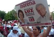 """""""Qué bueno que nació MORENA, porque nosotros vamos a gobernar Michoacán como nadie lo ha hecho, ¿cómo lo vamos a hacer? Haciendo lo contrario a lo que ellos hacen, que es mentir, robar y defraudar"""": Núñez Ramos"""