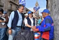 Nacho Alvarado mencionó que es importante retomar aquellas actividades que en familia tradicionalmente se realizaban en el bello Centro Histórico de la ciudad