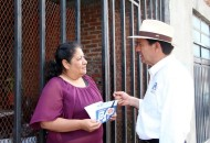 Fernando Contreras señaló que de llegar al Congreso del Estado se alineará con las propuestas de gobierno que ha presentado la candidata panista a la gubernatura, Luisa María Calderón