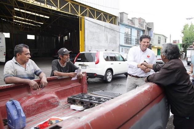 Alfonso Martínez y su equipo, buscan decididamente el contacto directo con el ciudadano, para que sean los propios morelianos quienes conozcan su proyecto de Gobierno