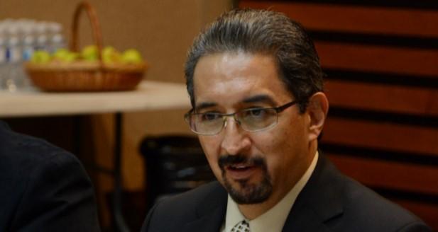 Medardo Serna, rector de la Casa de Hidalgo.