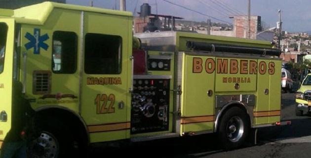 Todos los cuerpos de auxilio son alertados por el intenso incendio registrado
