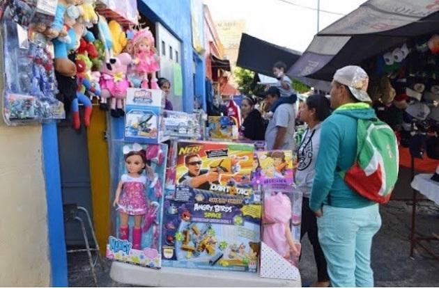Este año los permisos para los comerciantes que se instalaron fueron en torno a la venta de productos como: juguetes, ropa, electrónica, bicicletas y artículos alusivos a este día