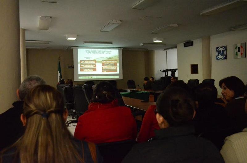 En el caso de Junta Local la reunión se realizó el 15 de enero en la sala de sesiones con personal del Servicio Profesional, de la rama administrativa y prestadores de servicio