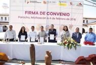 Ángel Alonso Molina destacó que este convenio es de suma importancia para las comunidades indígenas, ya que ayudara a mejorar su desarrollo laboral y su capacidad para generar opciones de autoempleo